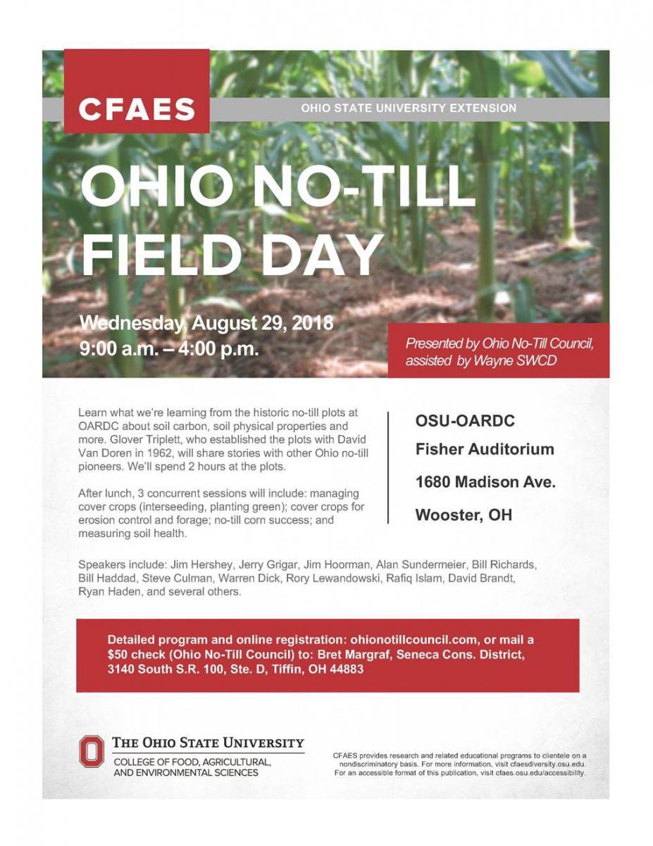No-till field day