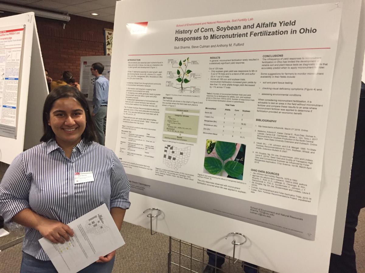 Stuti Sharma, Staff Researcher category